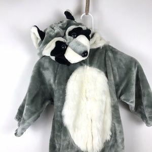 Kids Plush Racoon Trash Panda Costume Size Medium